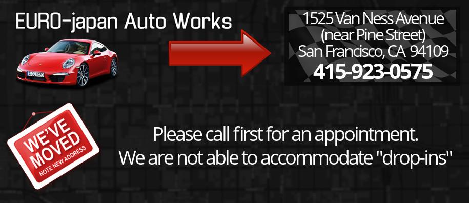 Euro Japan Auto Works A San Francisco Auto Repair Shop